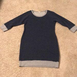 J. Crew Sweatshirt Dress